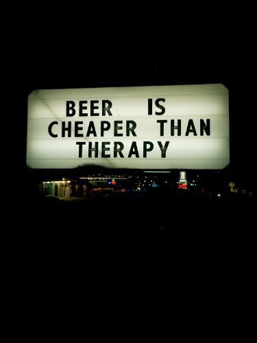3631 beer is cheaper than therapy